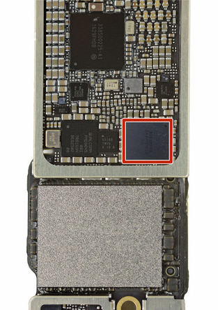 Audio IC chip iPhone 7